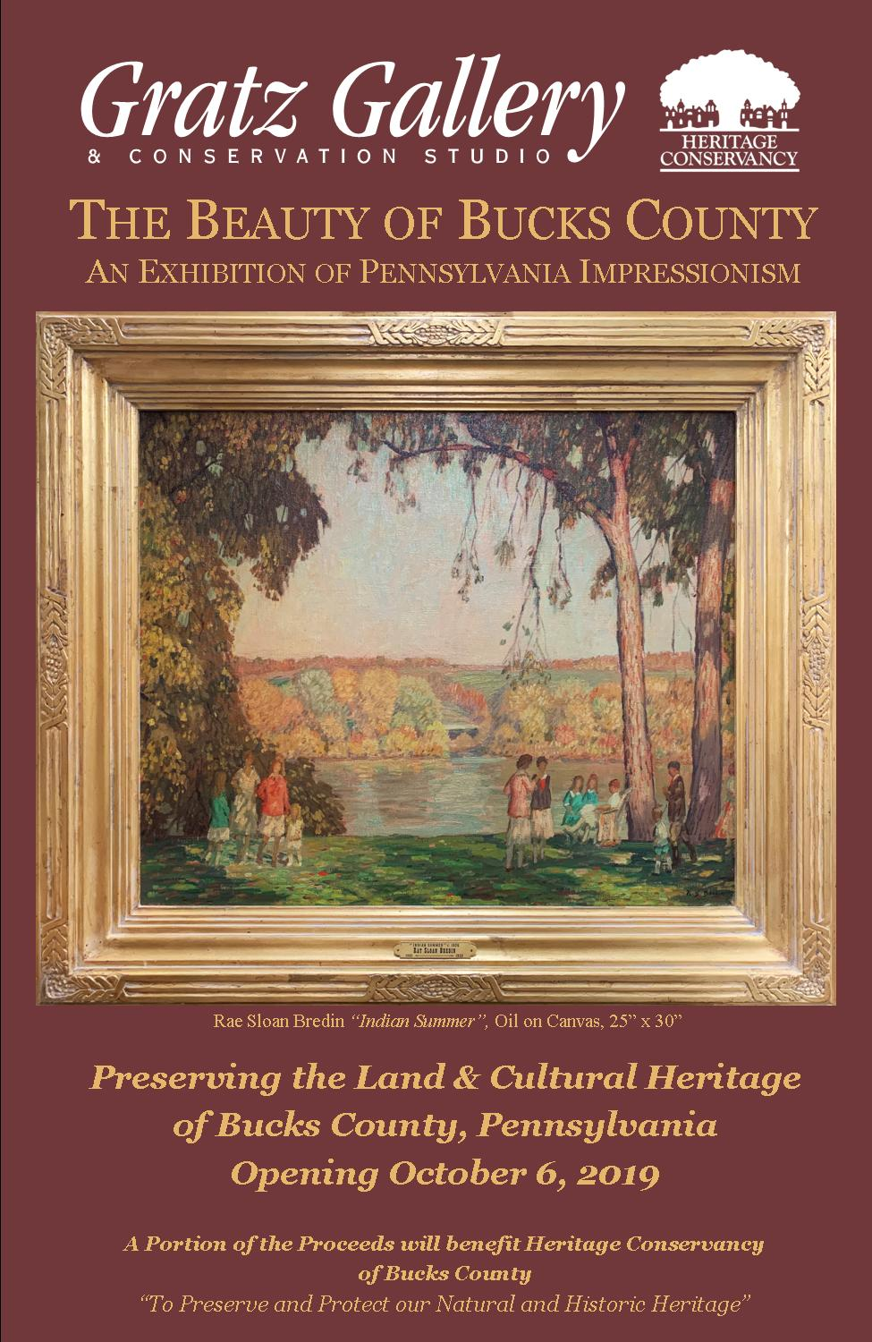 THE BEAUTY OF BUCKS COUNTY