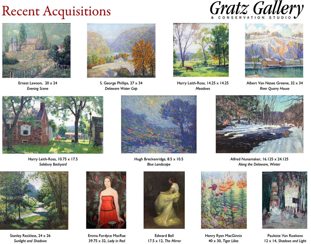 Bucks County Fall Painting Gallery